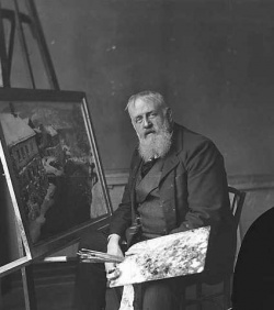 Frits Thaulow at work.jpg